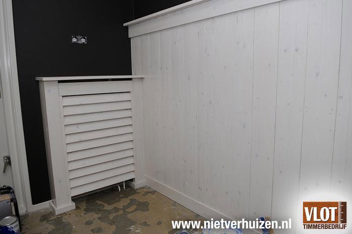 louvre radiator ombouw