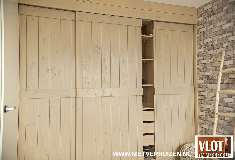 houten schuifdeuren op maat