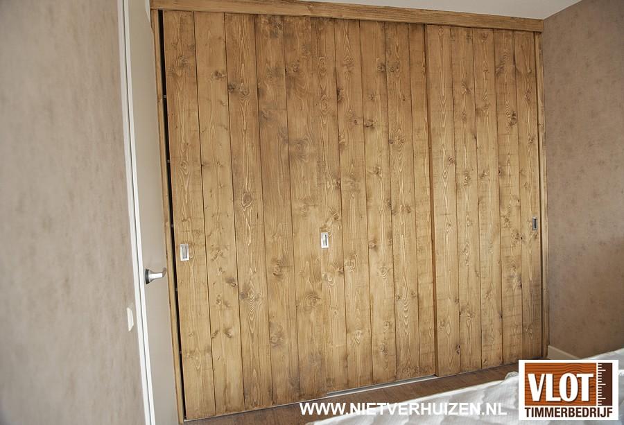 robuuste deuren van planken