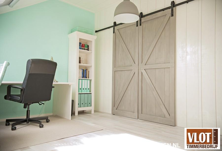 werkkamer dubbele deuren