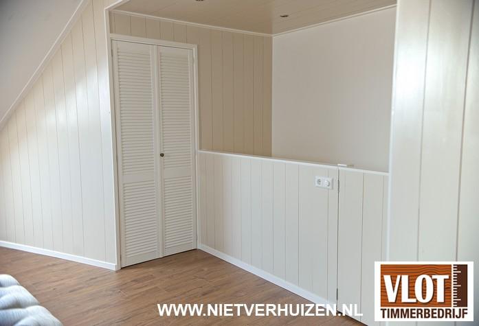 inloopkasten hout louvre deurtjes
